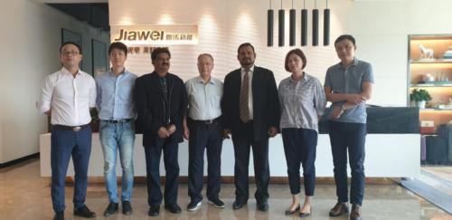 Meeting with Board Chairman of Jiawei
