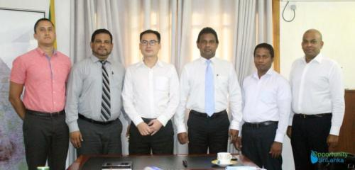 Meeting with China Chemical Engineering Second Construction Corporation
