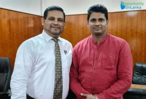 Meeting with State Minister for Drug Production - Channa Jayasumana