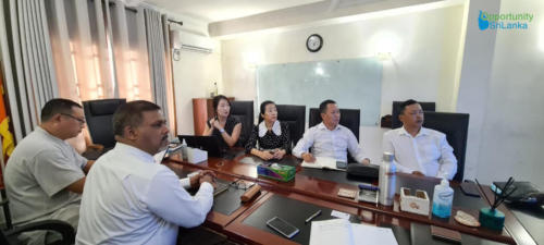 Meeting with Teng Fei Construction and Engineering Company (Pvt) Ltd