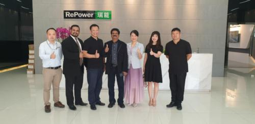 Meeting with Vice President of REPOWER