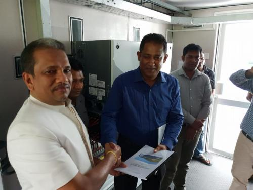 Opening of the Wellawaya CST Solar Factory2