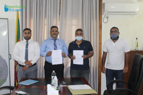 VCP Signing Agreement with Mr. Ali Agsar Hazar